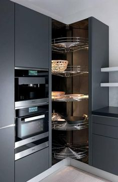 Do you want to have an IKEA kitchen design for your home? Every kitchen should have a cupboard for food storage or cooking utensils. So also with IKEA kitchen design. Here are 70 IKEA Kitchen Design Ideas in our opinion. Kitchen Pantry Design, Modern Kitchen Design, Home Decor Kitchen, Interior Design Kitchen, New Kitchen, Kitchen Storage, Kitchen Rack, Kitchen Utensils, Kitchen Tools