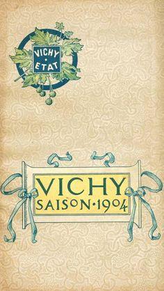 Art-Guide Vichy 1904 - Thermes Callou