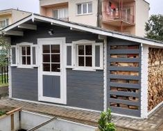 Záhradné domčeky | Môj Altánok Pula, Valencia, Madrid, Garage Doors, Shed, Outdoor Structures, Outdoor Decor, Home Decor, Santiago