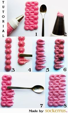 Fun #frosting technique. #HowTo