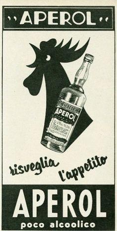 Vintage Advertising : aperol ad Vintage Advertising Campaign aperol ad Advertisement Description aperol ad Sharing is love ! Vintage Italian Posters, Vintage Advertising Posters, Vintage Advertisements, Vintage Posters, Advertising Campaign, Vintage Labels, Vintage Ads, Vespa Ape, Aperol
