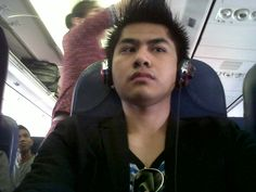 On the Plane yesterday .