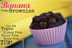 Southern In-Law: Recipe: Fudgy Banana Brownies Gluten Free!!!