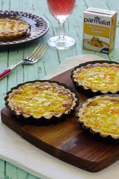 Cinco Quartos de Laranja: Tartelettes de camarão com alho-francês e caril