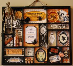 Heather's Hints of Happiness: Altered Halloween Printers Tray