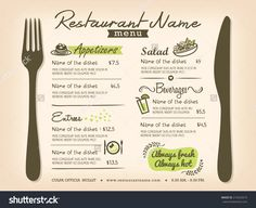 Illustration about Restaurant Placemat Menu Design Template Layout. Illustration of label, decorate, dishes - 45972003 Menu Restaurant, Restaurant Menu Template, Restaurant Service, Menue Design, Food Menu Design, Menu Layout, Appetizer Salads, Appetizers, Coffee Menu