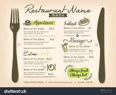 impaginazione moderna menu ristorante - Cerca con Google