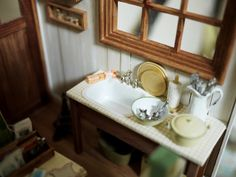 A scullery section in miniature.