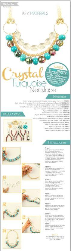 Proveedor de Bisuteria, Componentes y Accesorios para Armar Joyeria. Bisuteria en Monterrey, Guadalajara y Mexico. Wire Wrapped Jewelry, Wire Jewelry, Jewelry Crafts, Beaded Jewelry, Jewelery, Handmade Jewelry, Diy Collier, Jewelry Making Tutorials, Diy Necklace