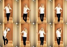 flattering poses for a female