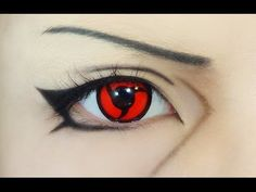 Tutorial : Anime Eye Makeup 70 • Uchiha Itachi