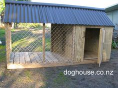 Dog House | Outdoor Dog Puppy Houses, Kennels and Runs | Auckland, Pukekohe Waikato - Gardening Designing