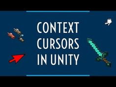 How To Add Context Aware Cursors to your Unity Game in 2 minutes Unity Games, I Am Game, Calm, Youtube, Youtubers, Youtube Movies