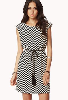 Geo Pattern Shift Dress | FOREVER21 - 2040496238  #ForeverHoliday