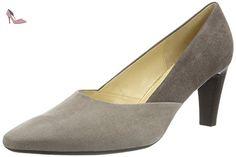 GABOR comfort escarpins femme-gris-chaussures en matelas grande taille - Gris - Gris, Taille 40 EU