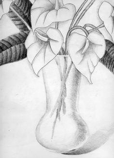 5x7 Illustration Art Print Gosips with Mimosas Drawing Inktober 2017