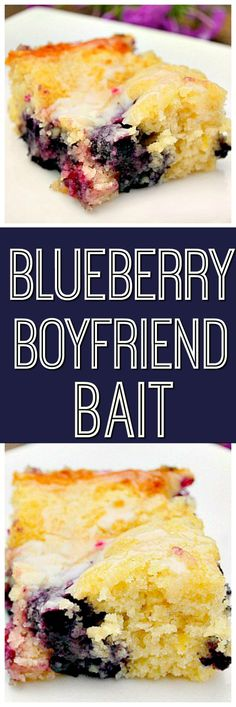 Lemon Glazed Blueberry Boyfriend Bait is so soft and moist. The blueberry and lemon flavors are perfect together, this is truly a cake you won't forget.