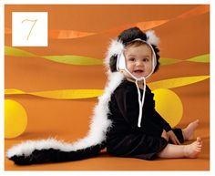 top ten handmade halloween costumes, skunk costume, DIY costume tutorial