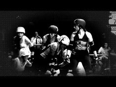Boston Massacre (Boston Derby Dames) vs New Skids On the Block (Montreal Roller Derby) promo video. // video by Jess Phearsome, music by Vanna