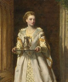 William Powell Frith (1819-1909) Gabrielle D'Estrees