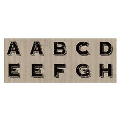 Buy East of India Large Letter Stickers, Pack of 35 Online at johnlewis.com