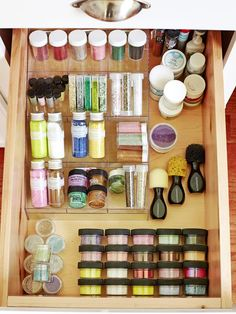 Designate a Glitter Spot - 12 Amazing Craft Room Ideas on HGTV
