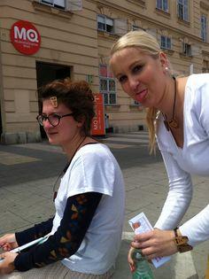 on CowCrowd promotion Tour :D Vienna, Promotion, Tours, Street, Fashion, Moda, La Mode, Roads, Fasion