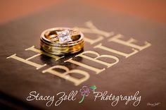 Ring shot / Bible / Christian wedding / Stacey Zoll Photography / Manhattan, Kansas Wedding Photographer