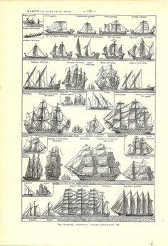 ship vintage illust mayflower - Google 検索