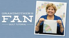 Make a Grandmother's Fan Quilt with Jenny!