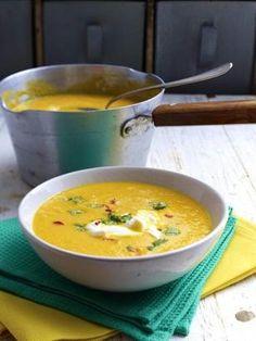 Karotten-Ingwer-Orangen-Suppe