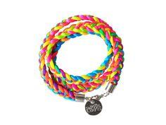 Armband HIPPIE LOVE MIX (neon)