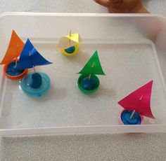 Raft And Boat Craft Ideas For Preschoolerstoddlers Pop Stick Toilet Paper Roll Idea Sponge Boats Kids Plastic