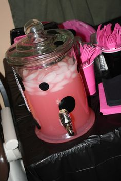 Ladybug pink and black Birthday Party Ideas | Photo 2 of 44 | Catch My Party