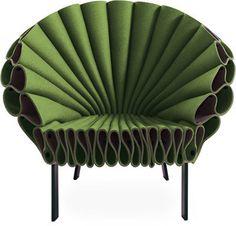 cappellini peacock chair