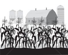 farm clipart black and white - Google Search | centennial ...