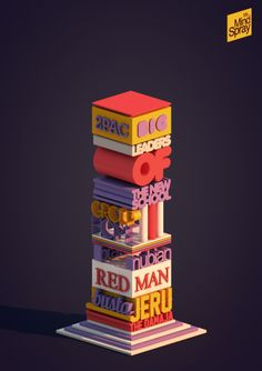 Da Hip Hop Palace by Matteo Del Nero, via Behance