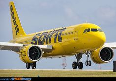 Spirit Airlines Airbus A320-271N N901NK touching down at Fort Lauderdale-Hollywood International, October 2016. Brand new. (Photo: Suresh Atapattu)