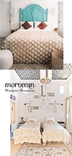 Moroccan wedding blankets | At Home in Love