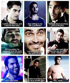 Derek Hale is so funny on Teen Wolf, seriously I wish he could come back. Stiles Teen Wolf, Teen Wolf Derek, Teen Wolf Dylan, Teen Wolf Cast, Dylan O'brien, Sterek, Stydia, Teen Wolf Quotes, Teen Wolf Funny