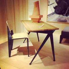 Milan furniture fair 2012. Prouvé RAW