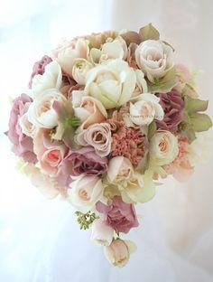 ブーケ ティアドロップ シュナーベル : 一会 ウエディングの花