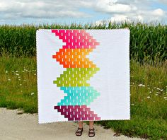 Ombre Love | A Finished Quilt by canoeridgecreations on Flickr.
