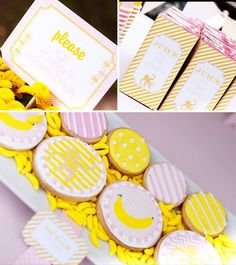 Definitely changed my mind... still going with monkeys for CB's birthday, but going pink and yellow instead of primary colors.  This link is awesome for party ideas!