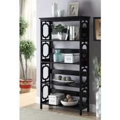 Shop for Convenience Contemporary Concepts Omega 5-tier Bookcase. Get free shipping at Overstock.com - Your Online Furniture Outlet Store! Get 5% in rewards with Club O! - 20711210