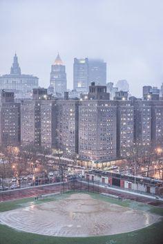 Baseball Field, Lower East Side, New York, NY, 2014