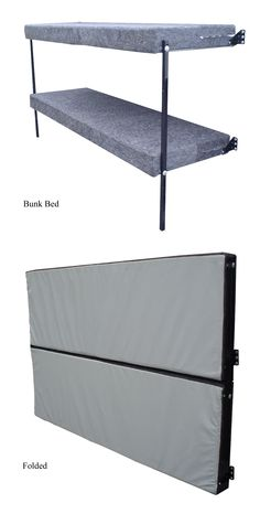 Wall Mount Folding Bunk Bed