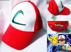 Pokemon Ash Ketchum hat free size $11.95
