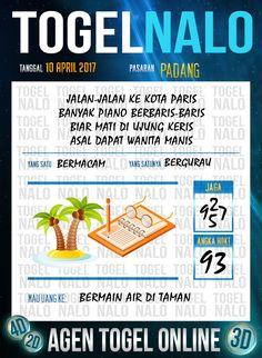 Angka Kuat 3D Togel Wap Online TogelNalo Padang 10 April 2017