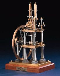 A finely engineered bronze, brass and stainless steel 1/12th scale model of the table engine 'Grace',